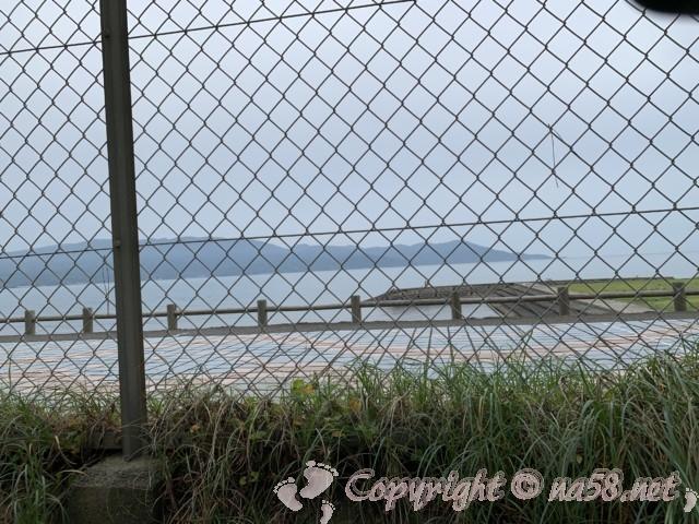 沼津御用邸記念公園(静岡県沼津市)前の島郷海岸