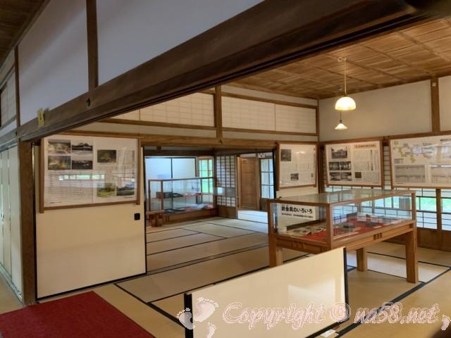 沼津御用邸記念公園内の「西付属邸」の飾り金具と作り方の解説
