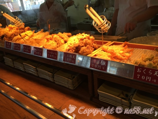 「讃岐製麺」の天ぷら
