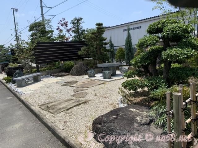 愛知県西尾市「憩いの農園・バラ園」庭園のセット