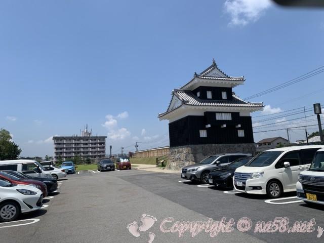 西尾市歴史公園(愛知県西尾市)の駐車場