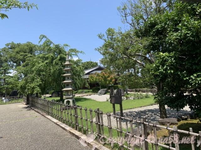 西尾市歴史公園(愛知県西尾市)旧近衛邸