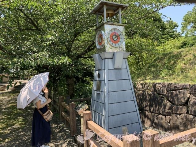 西尾市歴史公園(愛知県西尾市)の時計塔