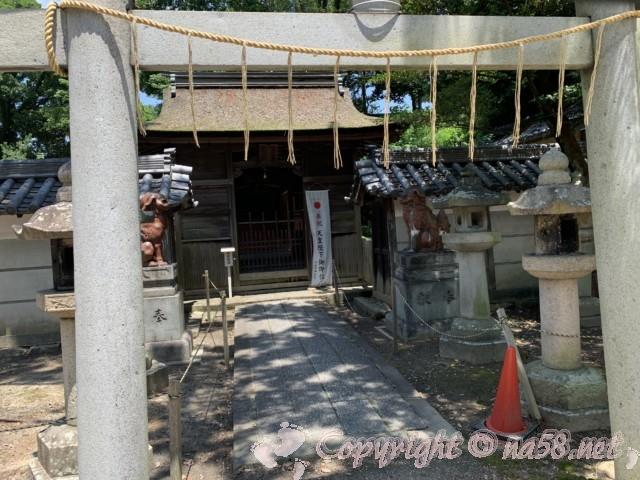 西尾市歴史公園(愛知県西尾市)御剣八幡宮