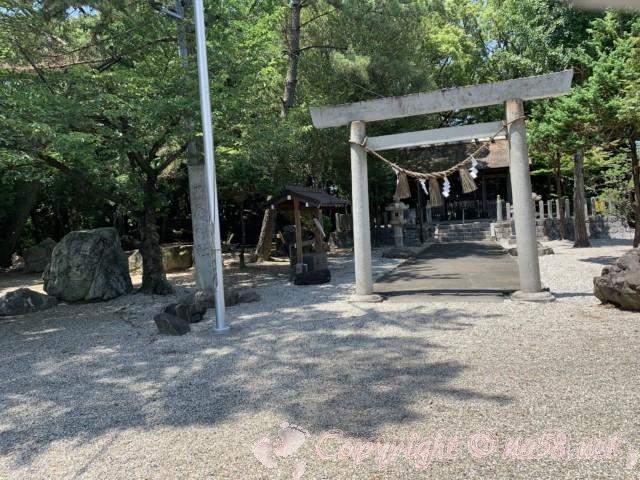 西尾市歴史公園(愛知県西尾市)西尾神社