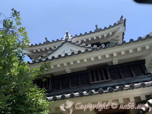 西尾市歴史公園(愛知県西尾市)西尾城の丑寅櫓