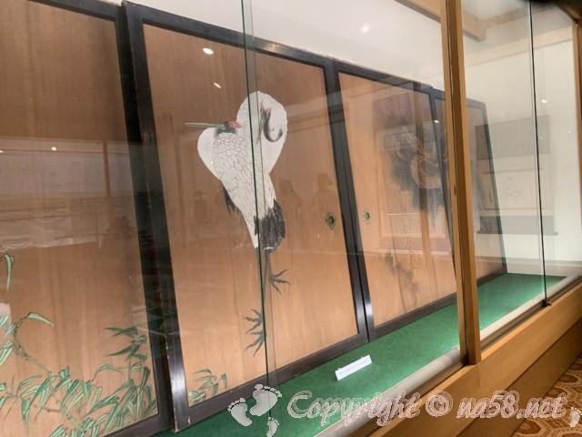 西尾市歴史公園(愛知県西尾市)西尾城二の丸御殿で使われていたとされる襖絵