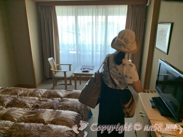 渚のリゾート「竜宮ホテル」(愛知県西尾市吉良町)の客室