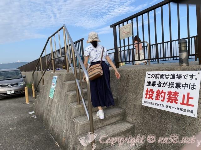 吉良ワイキキビーチ(恵比寿海水浴場)愛知県西尾市吉良町、釣り場