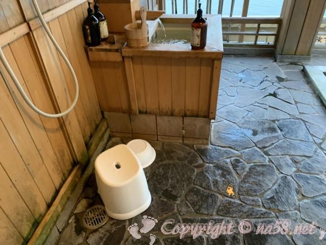 渚のリゾート「竜宮ホテル」(愛知県西尾市吉良町)の露天風呂
