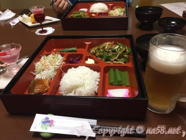 渚のリゾート「竜宮ホテル」(愛知県西尾市吉良町)格安プランの夕食中華
