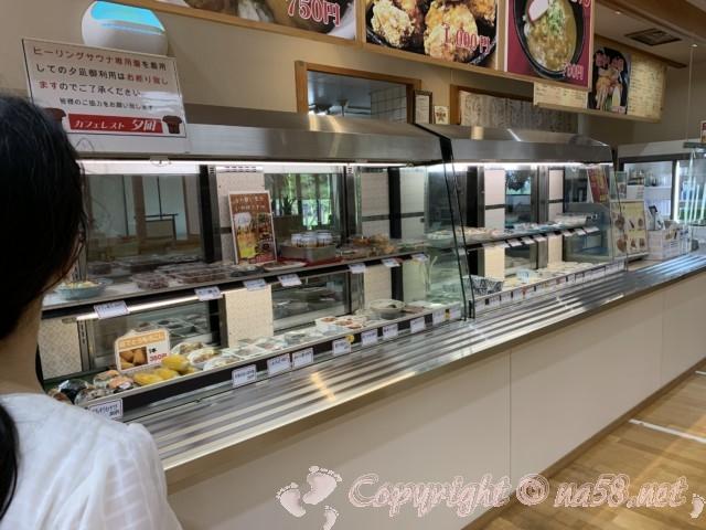 JAあぐりタウンげんきの郷(愛知県大府市)のめぐみの湯の食事処