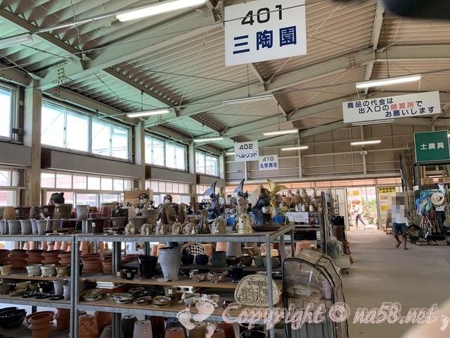 愛知県西尾市「憩いの農園・バラ園」の園芸用品コーナー
