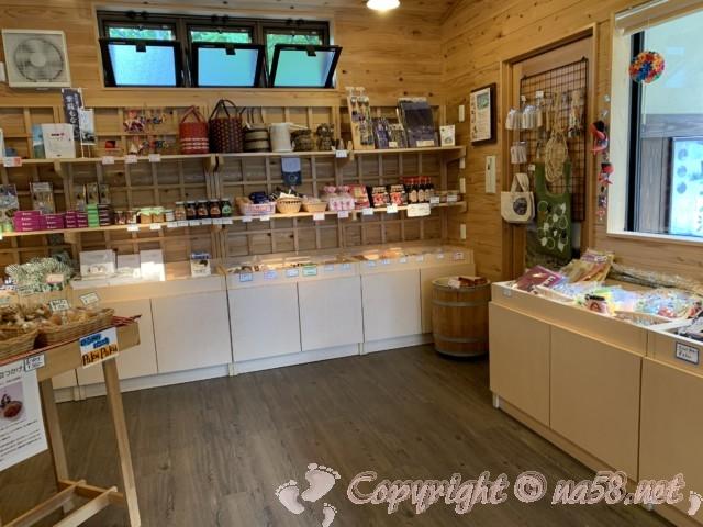 道の駅飛騨白山(岐阜県白川村)の売店