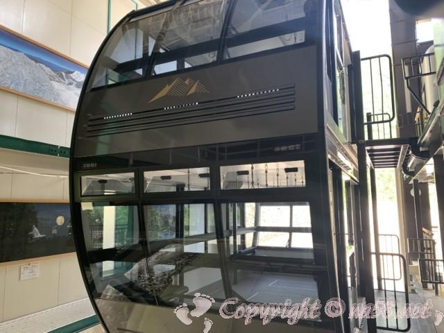 新穂高ロープウェイ(岐阜県高山市)日本で唯一の二階建てロープウェイ