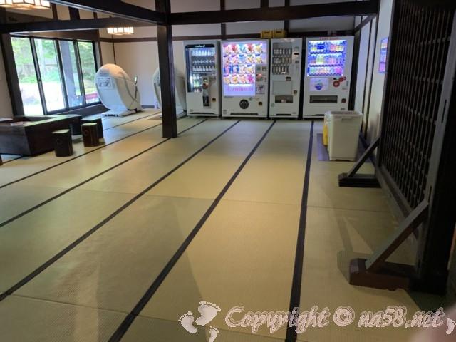 ひらゆの森(岐阜県奥飛騨温泉郷)無料休憩所
