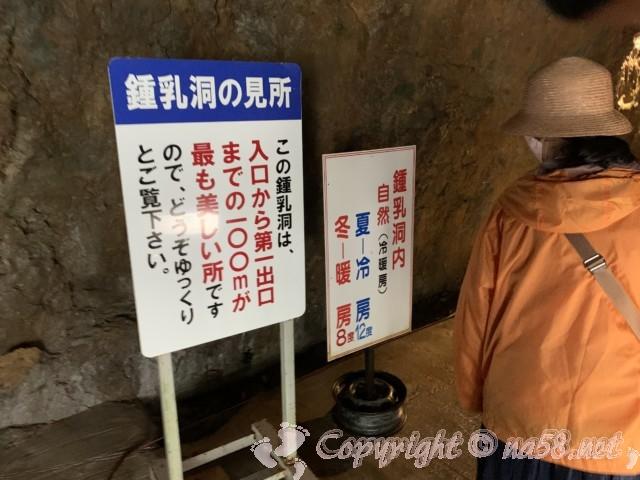 飛騨大鍾乳洞入り口(岐阜県高山市)気温と見どころについて