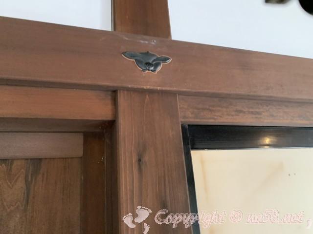 高山陣屋(岐阜県高山市)うさぎの釘隠し