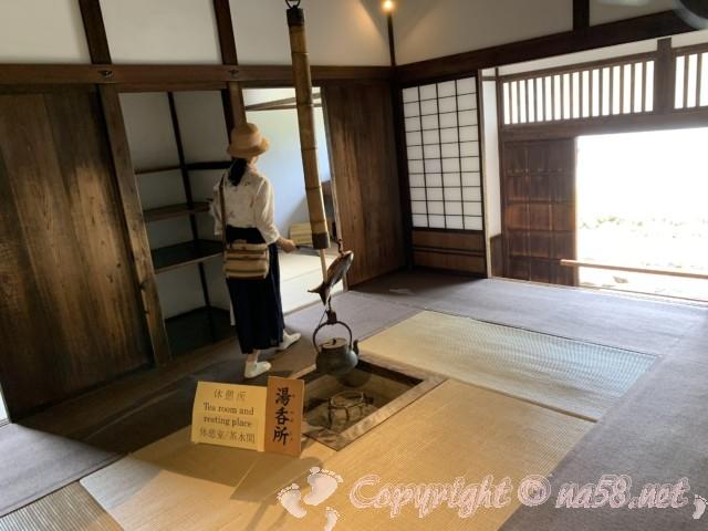 高山陣屋(岐阜県高山市)湯呑所