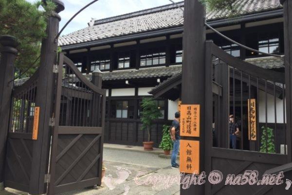「高山市政記念館」(岐阜県高山市)玄関