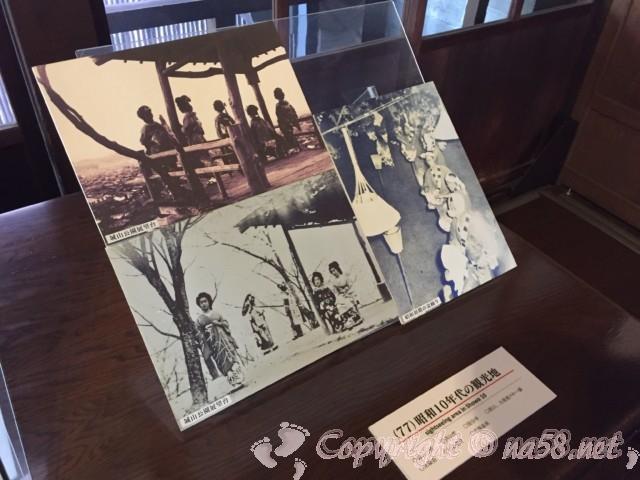 高山市政記念館(岐阜県高山市)の内部 昭和10年代の観光案内