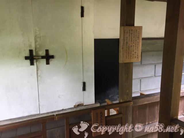 高山市政記念館(岐阜県高山市)にある土蔵