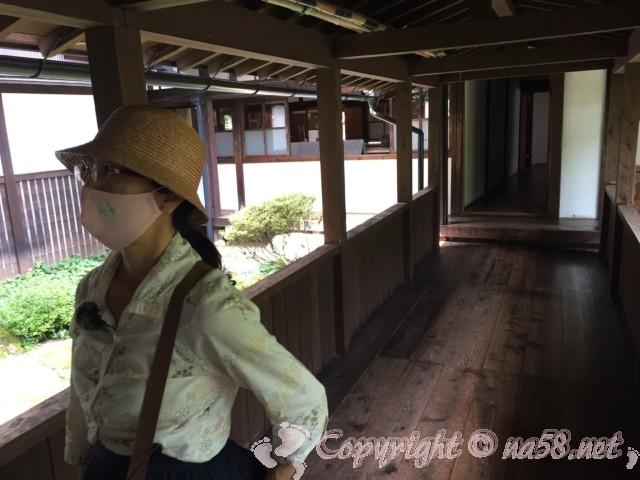 高山市政記念館(岐阜県高山市)廊下
