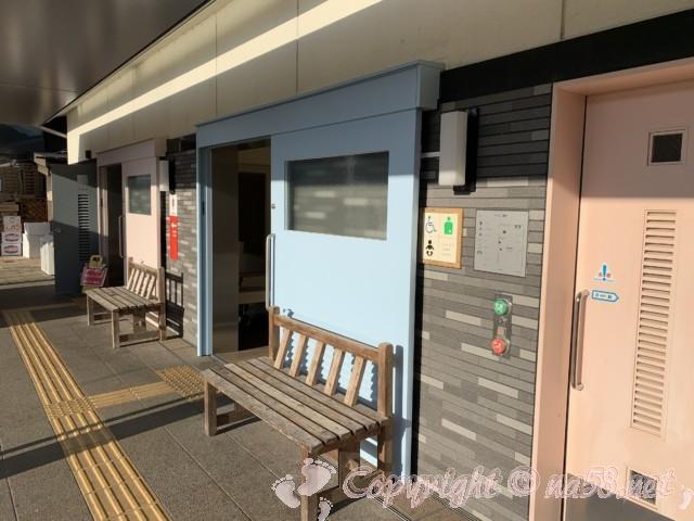 「道の駅 可児ッテ」(岐阜県可児市)のお手洗いと情報館