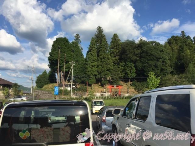 「道の駅 可児ッテ」(岐阜県可児市)の普通車駐車場