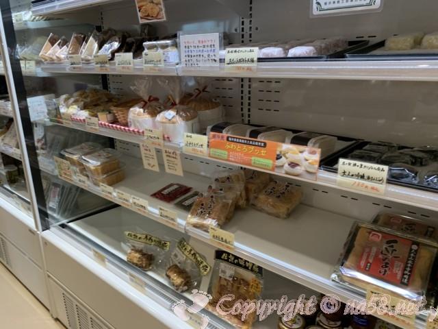 「道の駅 禅の里」(福井県永平寺町)食事材料、惣菜販売