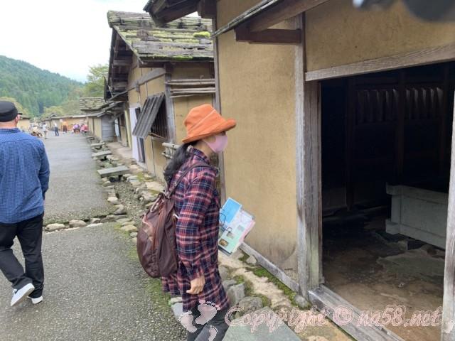 「一乗谷復原町並」(福井県福井市)見学、散策