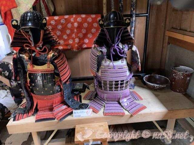 「一乗谷復原町並」(福井県福井市)時代衣装に着替え所