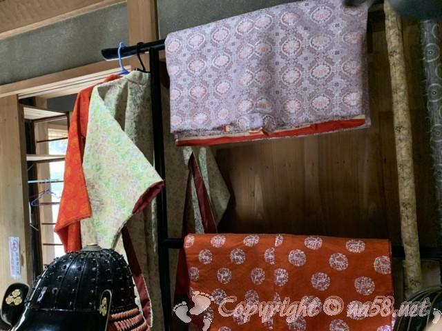「一乗谷復原町並」(福井県福井市)時代衣装に着替え所 女性用