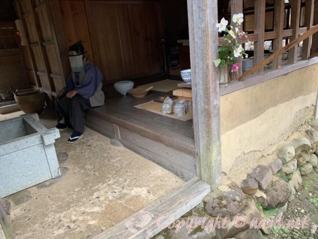「一乗谷復原町並」(福井県福井市)町人の家は2DK
