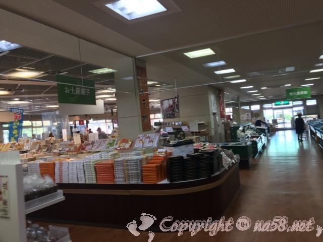 「道の駅みくに」(福井県坂井市)とれたて農産物やお土産類豊富