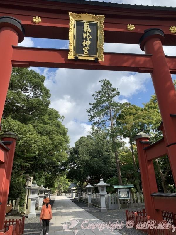 氣比神社(神宮)福井県敦賀市・日本三大鳥居をくぐってお参りする