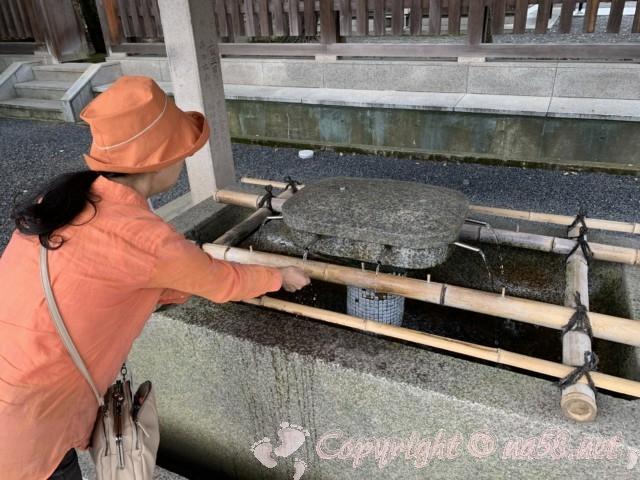 氣比神宮(福井県敦賀市)・手水舎