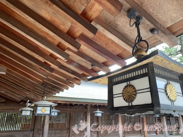 氣比神宮(福井県敦賀市)・境内の様子 広くて荘厳