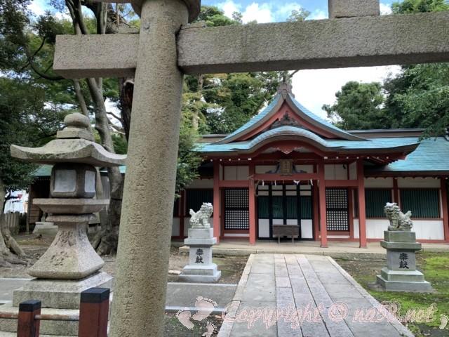 氣比神宮(福井県敦賀市)・境内 お社