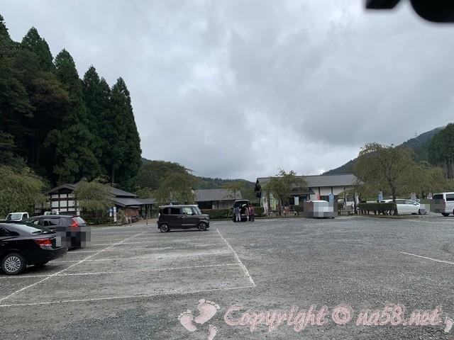 「一乗谷復原町並」(福井県福井市)の一番近くの駐車場