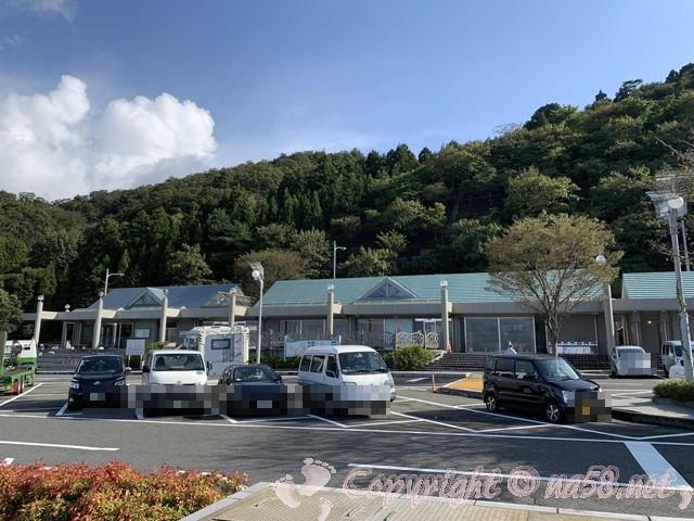 道の駅河野(福井県南越前町)の施設と駐車場