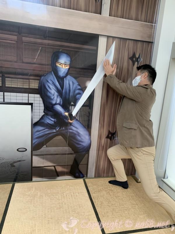 道の駅いが(三重県伊賀市)忍者と戦う?