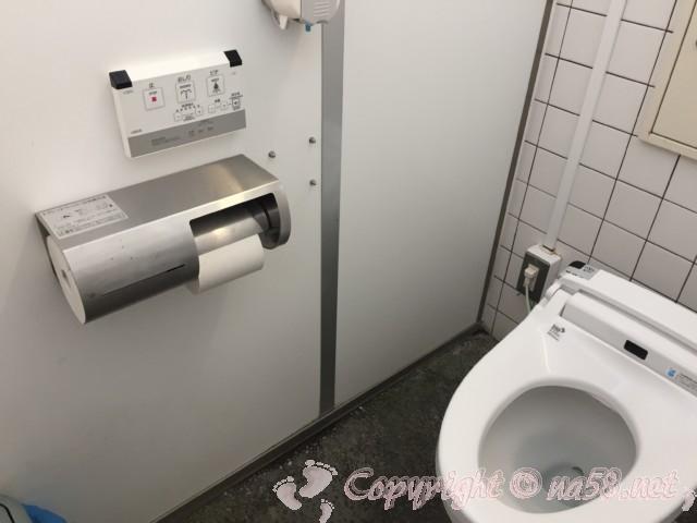 「道の駅針テラス」(奈良県奈良市)のトイレ