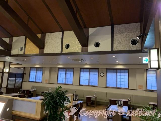 「橿原ぽかぽか温泉」奈良県橿原市 食事処の様子