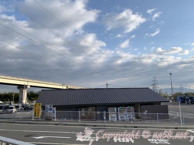 「道の駅 かつらぎ」奈良県葛城市 トイレと情報館と駐車場