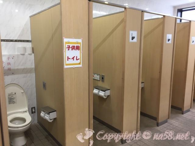 「道の駅 柿の郷くどやま」(和歌山県九度山町)トイレ女性用