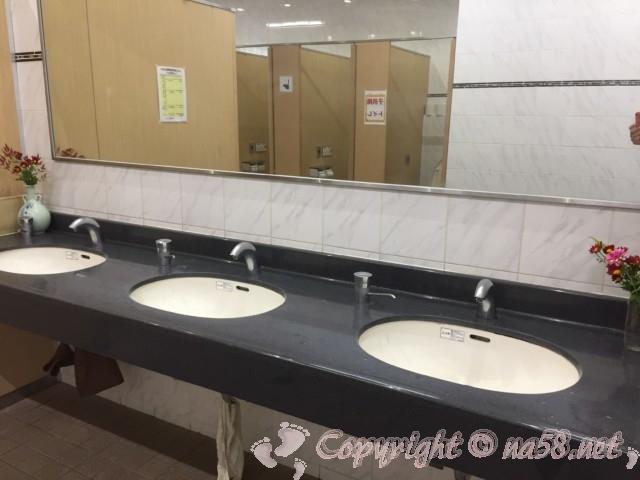 「道の駅 柿の郷くどやま」(和歌山県九度山町)トイレ女性用手洗い