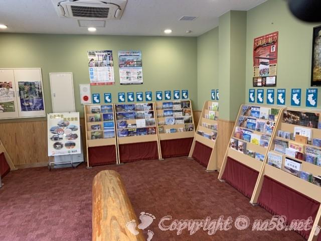 「道の駅 ねごろ歴史の丘」和歌山県岩出市 資料館内