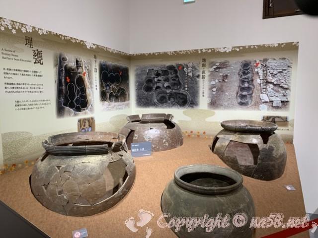 ねごろ歴史資料館 和歌山県岩出市根来 埋蔵して保管する壷