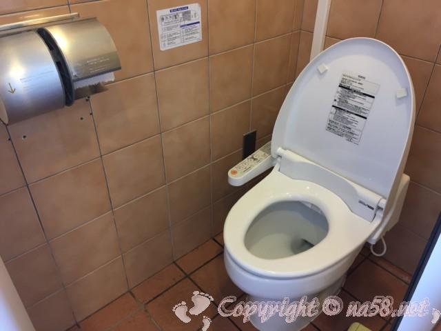道の駅白崎海洋公園(和歌山県由良町)の施設内のトイレ